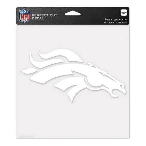 Wincraft Denver Broncos 8X8 Perfect Cut Decal