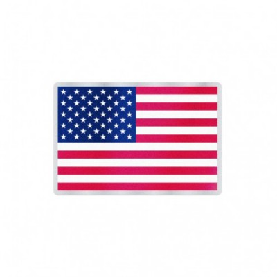 Wincraft American Flag Auto Badge Decal
