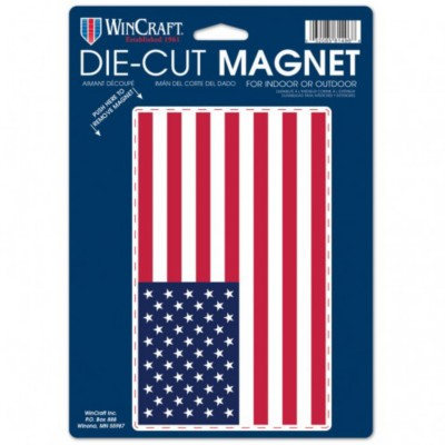 Wincraft 6.25x9 American Flag Logo Magnet' data-lgimg='{