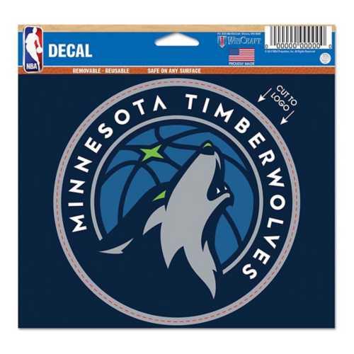 Wincraft Minnesota Timberwolves 5X6 Multi Use Decal