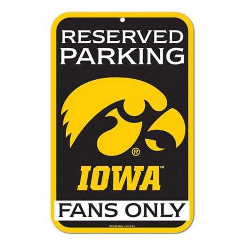 Wincraft Iowa Hawkeyes 11X17 Plastic Sign