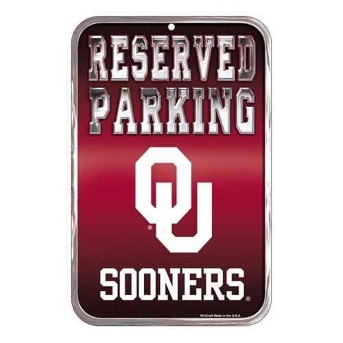 Wincraft Oklahoma Sooners 11X17 Plastic Sign