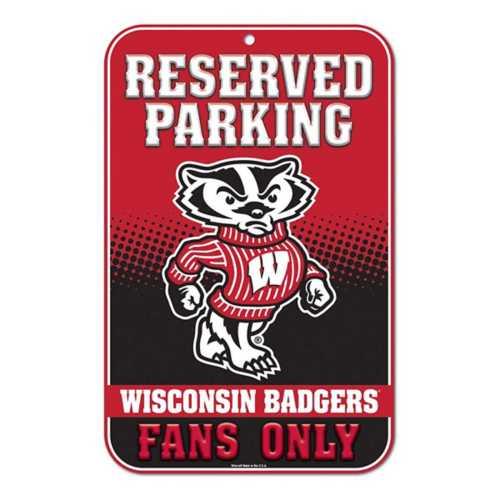 Wincraft Wisconsin Badgers 11X17 Plastic Sign