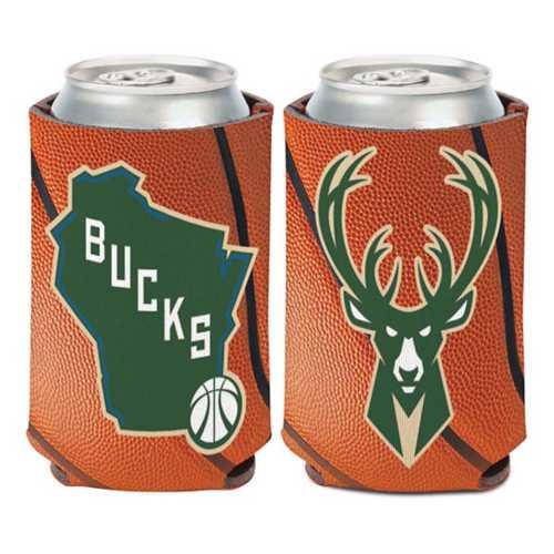 Wincraft Milwaukee Bucks Basketball Can Cooler