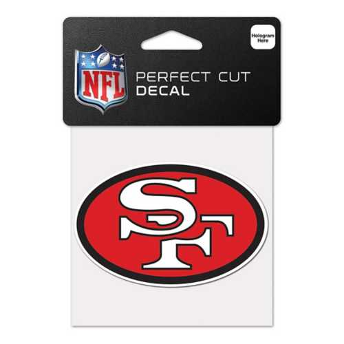 Wincraft San Francisco 49ers Retro 4X4 Perfect Cut Decal