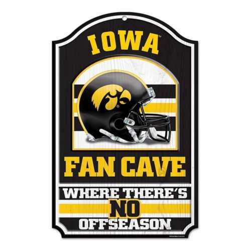 Wincraft Iowa Hawkeyes 11X17 Wood Sign