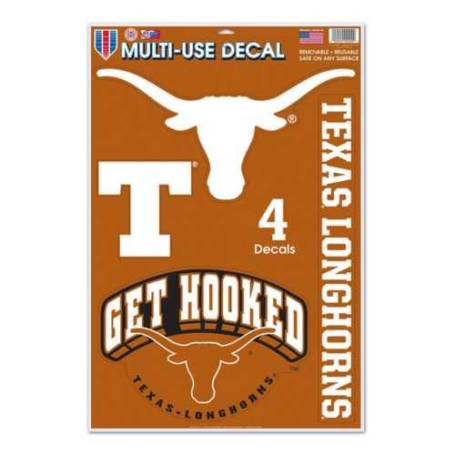 Wincraft Texas Longhorns 11X17 Decal