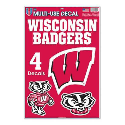 Wincraft Wisconsin Badgers 11X17 Decal