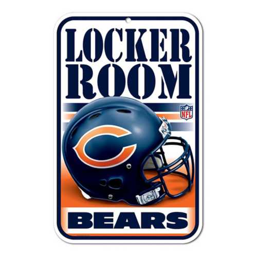 Wincraft Chicago Bears 11X17 Plastic Sign
