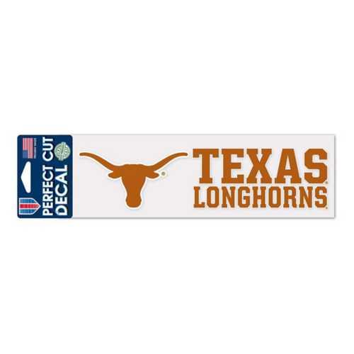 Wincraft Texas Longhorns 3X10 Perfect Cut Decal