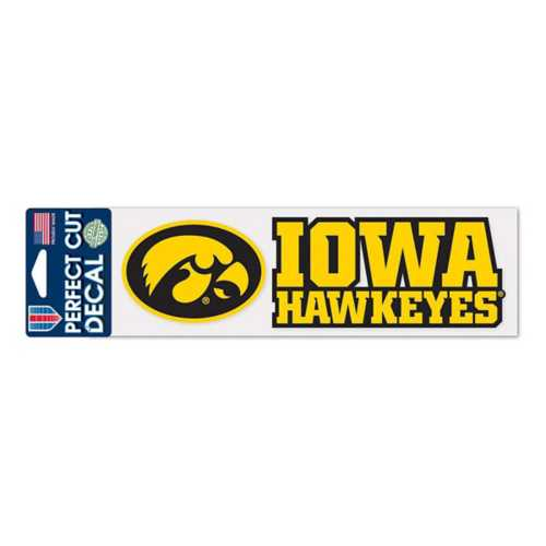 Wincraft Iowa Hawkeyes 3X10 Perfect Cut Decal