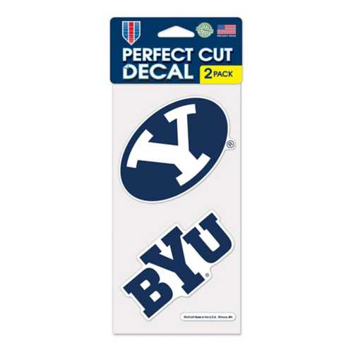 Wincraft BYU Cougars 4X8 Perfect Cut Decal