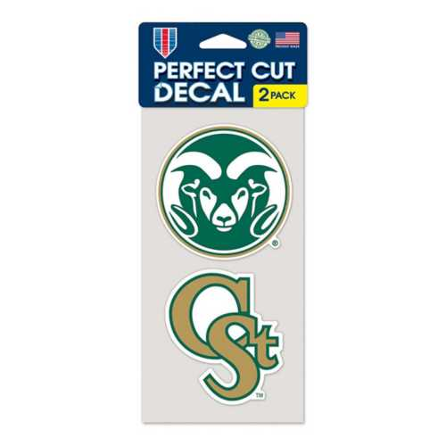 Wincraft Colorado State Rams 4X8 Perfect Cut Decal