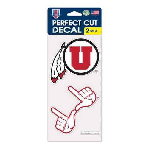 Wincraft Utah Utes 4X8 Perfect Cut Decal