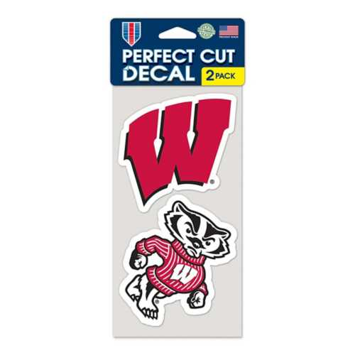 Wincraft Wisconsin Badgers 4X8 Perfect Cut Decal