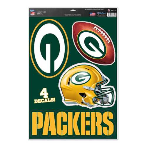 Wincraft Green Bay Packers 11X17 Decal