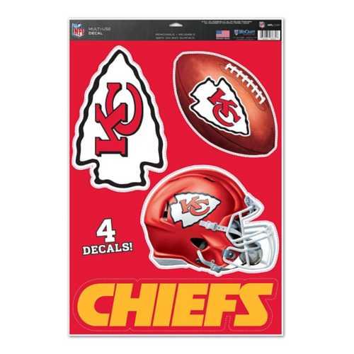 Wincraft Kansas City Chiefs 11X17 Decal