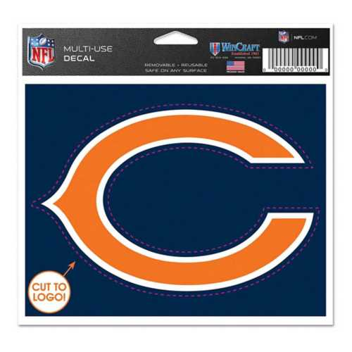 Wincraft Chicago Bears 5X6 Multi Use Decal