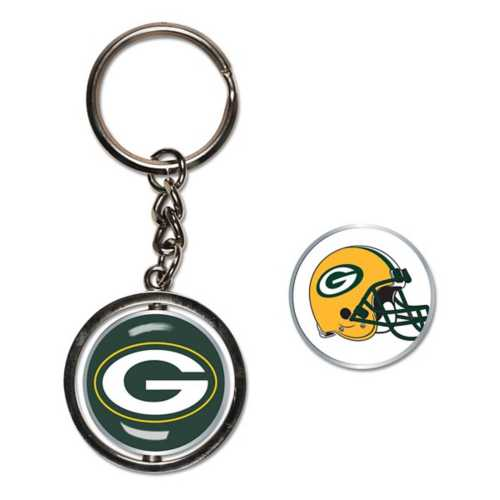 Wincraft Green Bay Packers Spinner Keyring