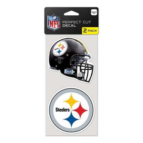 Wincraft Pittsburgh Steelers 4X8 Perfect Cut Decal