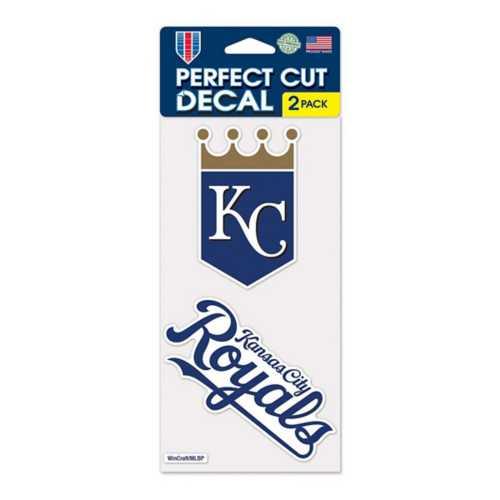 Wincraft Kansas City Royals 4X8 Perfect Cut Decal