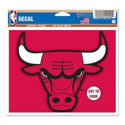Wincraft Chicago Bulls 5X6 Multi Use Decal