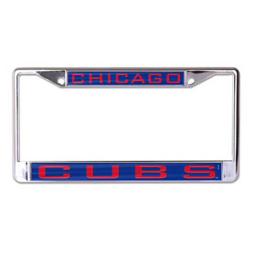 Wincraft Chicago Cubs Classic Metal License Plate Frame