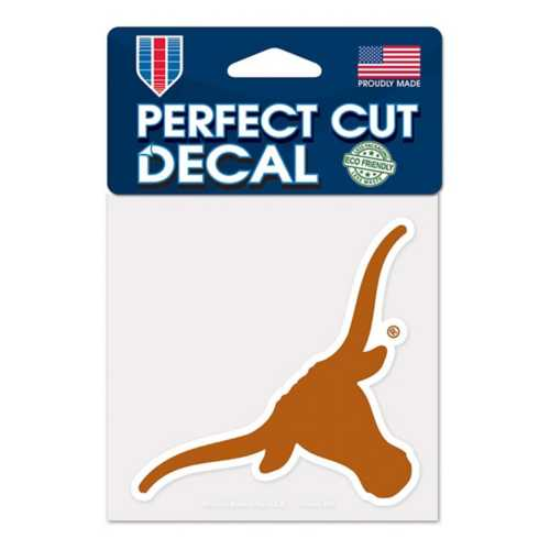 Wincraft Texas Longhorns 4X4 Perfect Cut Decal