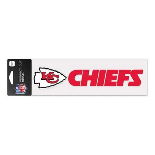 Wincraft Kansas City Chiefs 3X10 Perfect Cut Decal