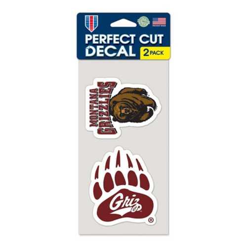 Wincraft Montana Grizzlies 4X8 Perfect Cut Decal