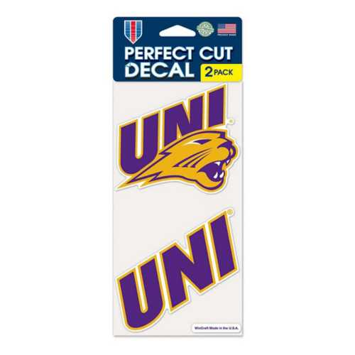 Wincraft Northern Iowa Panthers 4X8 Perfect Cut Decal