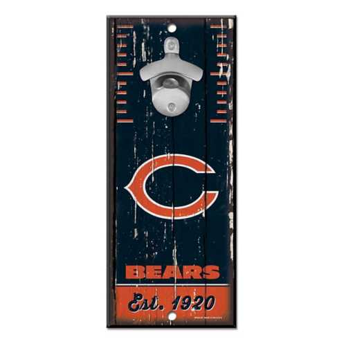 Wincraft Chicago Bears Bottle Opener Sign