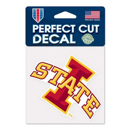 Wincraft Iowa State Cyclones 4X4 Perfect Cut Decal