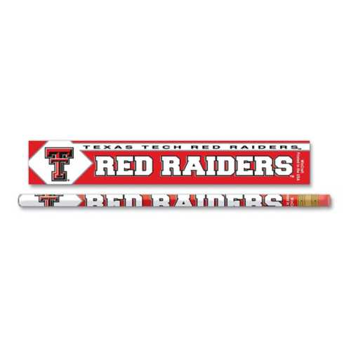 Wincraft Texas Tech Red Raiders 6 Pack Pencils
