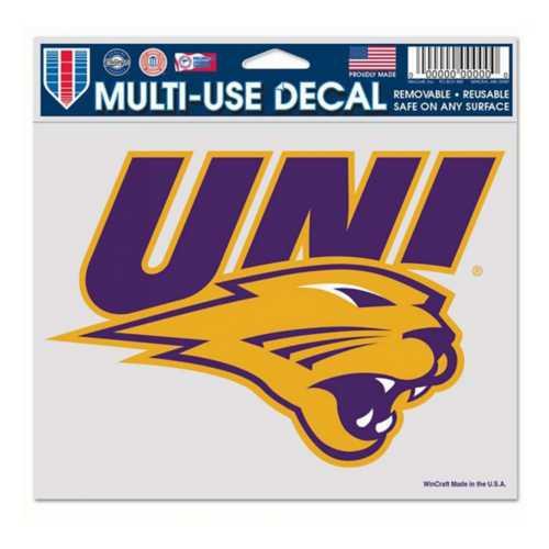 "Wincraft Northern Iowa Panthers Ultra 5""x6"" Decal"