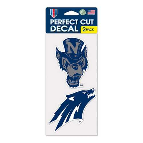 """Wincraft Nevada Wolf Pack 4""""x8"""" Perfect Cut Decal"""