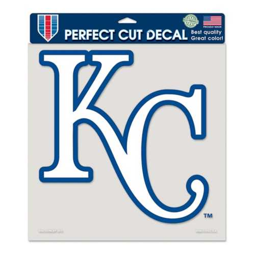 "Wincraft Kansas City Royals 8""x8"" Perfect Cut Decal"