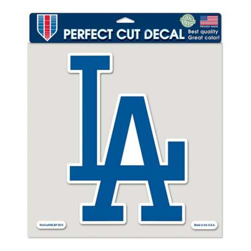 """Wincraft Los Angeles Dodgers 8""""x8"""" Perfect Cut Decal"""