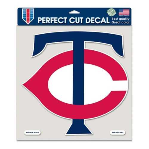 """Wincraft Minnesota Twins 8""""x8"""" Perfect Cut Decal"""
