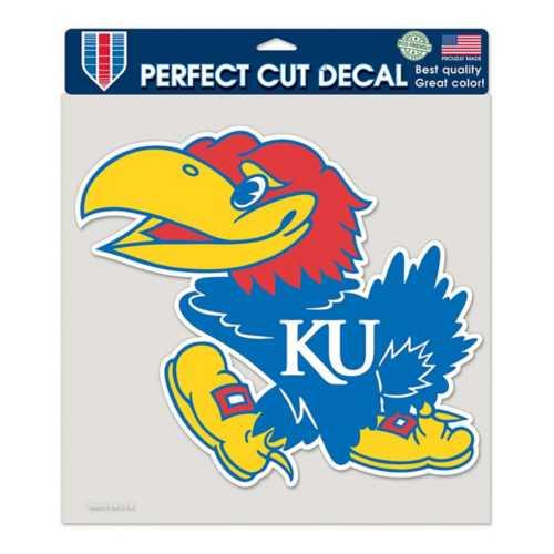 "Wincraft Kansas Jayhawks 8""x8"" Perfect Cut Decal"