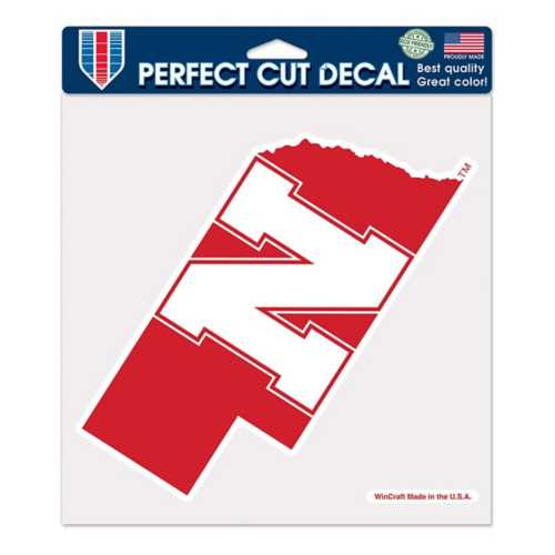 "Wincraft Nebraska Cornhuskers 8""x8"" Perfect Cut Decal"