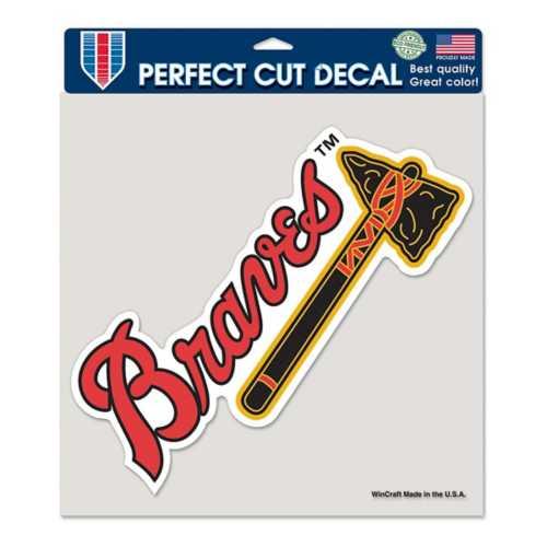 "Wincraft Atlanta Braves 8""x8"" Perfect Cut Decal"