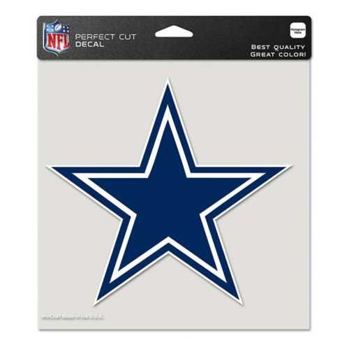 "Wincraft Dallas Cowboys 8""x8"" Perfect Cut Decal"