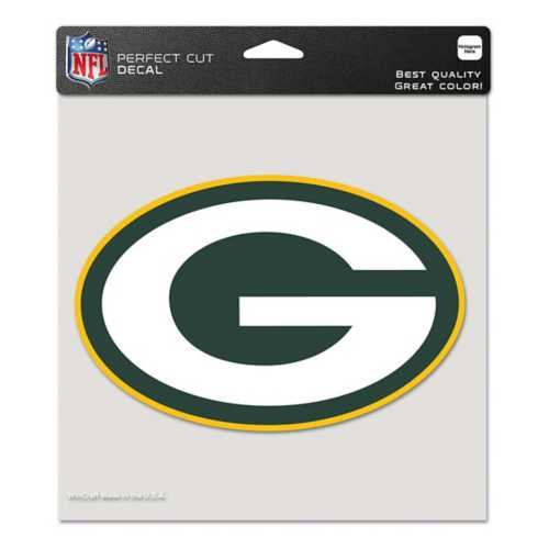 """Wincraft Green Bay Packers 8""""x8"""" Perfect Cut Decal"""