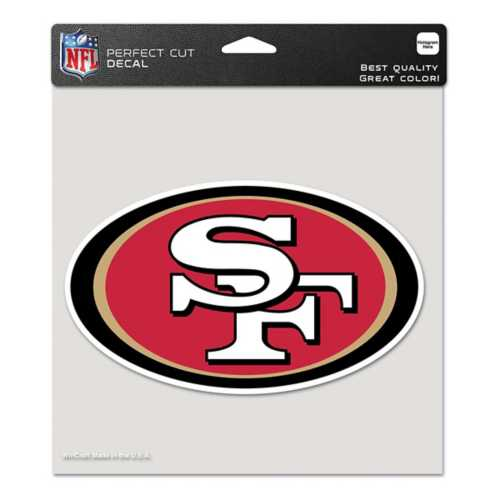 "Wincraft San Francisco 49ers 8""x8"" Perfect Cut Decal"