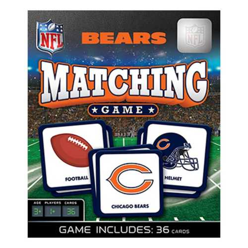 Masterpieces Puzzle Co. Chicago Bears Matching Game