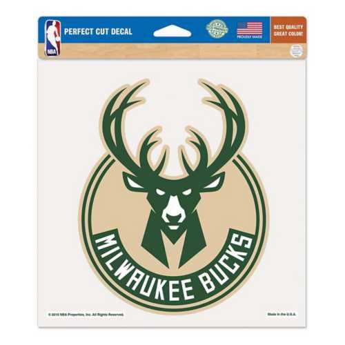"Wincraft Milwaukee Bucks 8""x8"" Perfect Cut Decal"