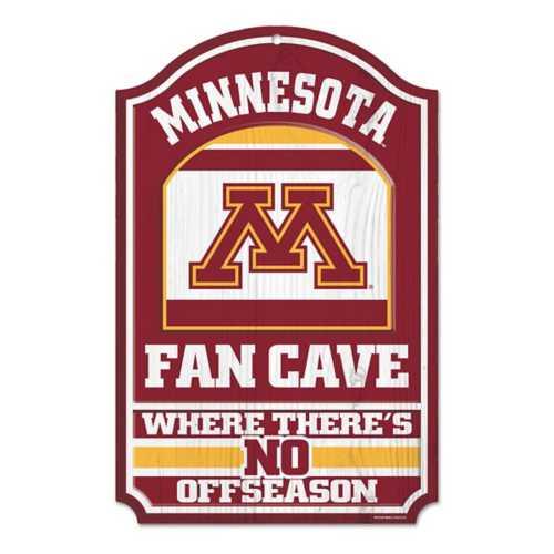 """Wincraft Minnesota Golden Gophers 11""""x17"""" Wood Sign"""