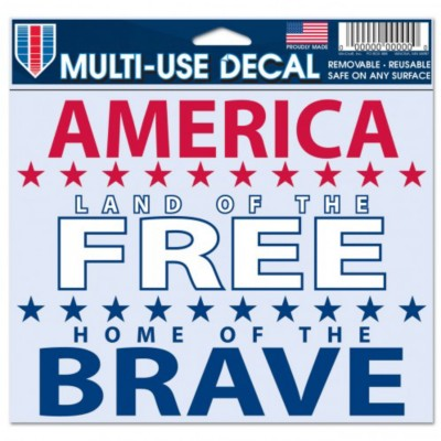 Wincraft Home of the Brave Decal