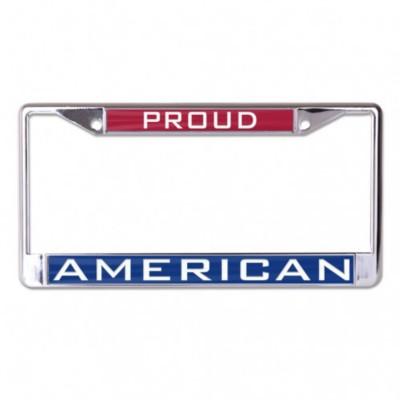 Wincraft Proud American Metal License Plate Frame